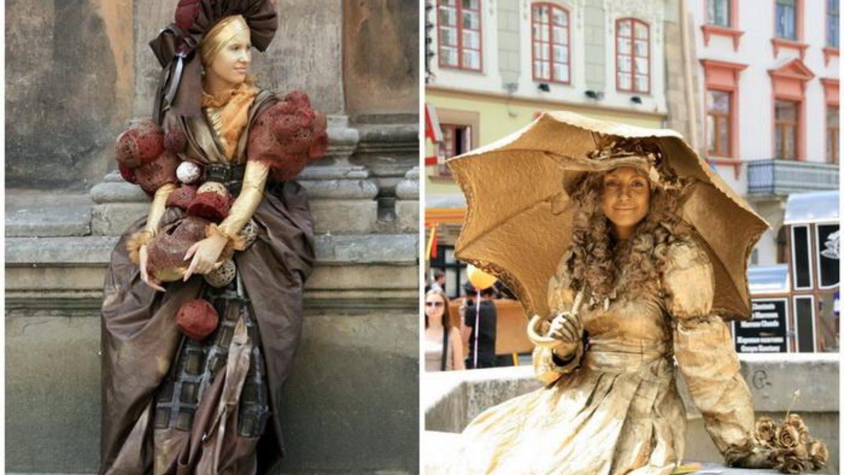 Живі скульптури